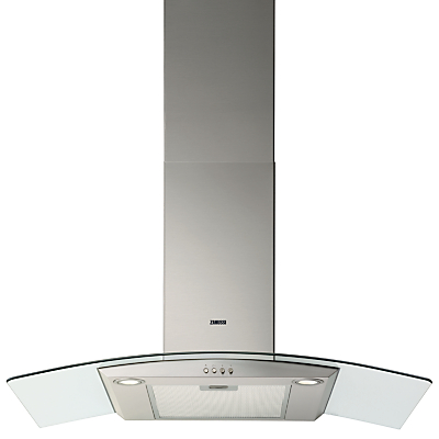 Zanussi ZHC9234X Chimney Cooker Hood, Stainless Steel Review thumbnail