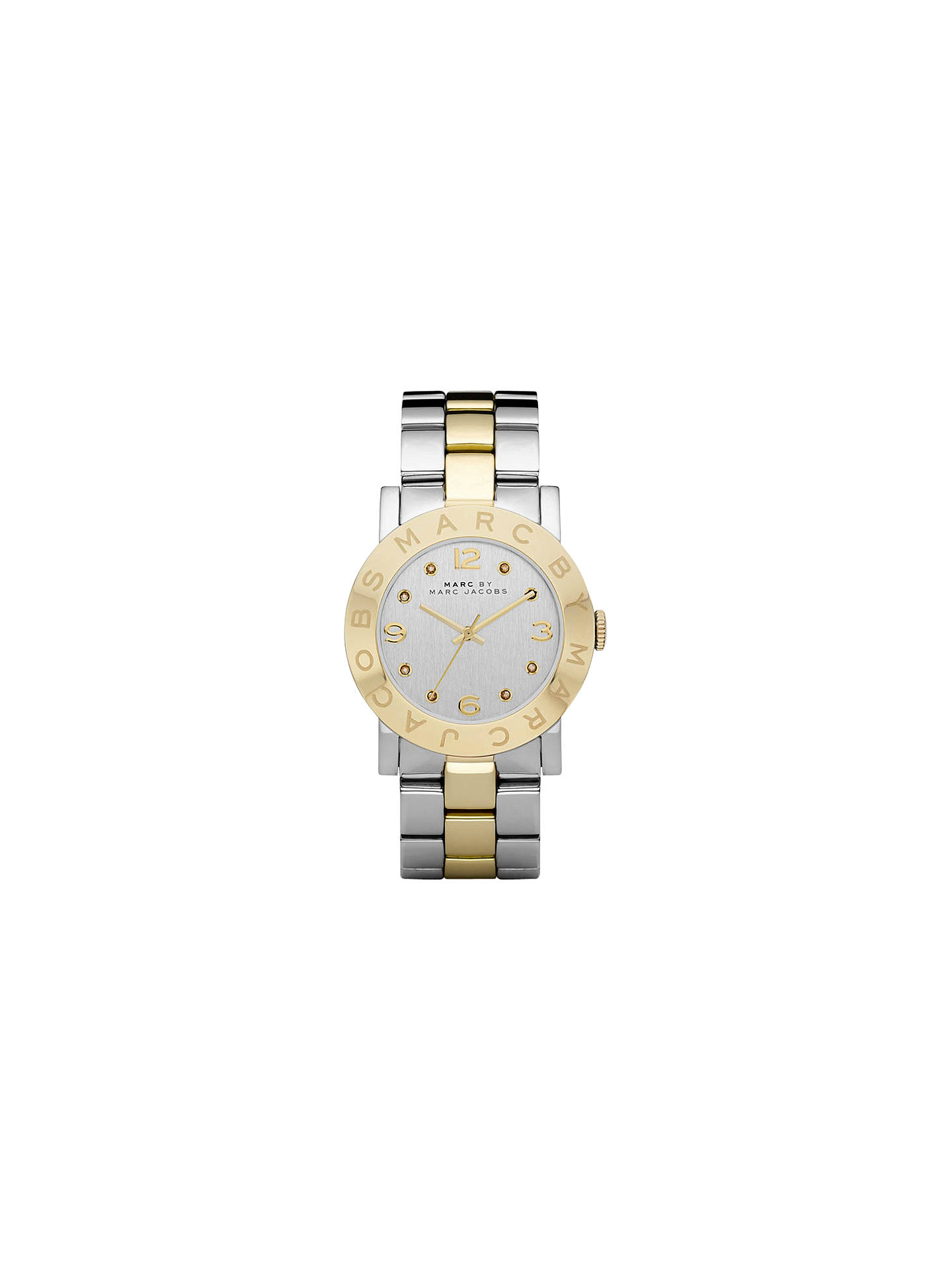 BuyMarc Jacobs MBM3139 Women s Amy Stainless Steel Bracelet Strap Watch,  Silver Gold Online at 183dccdb90
