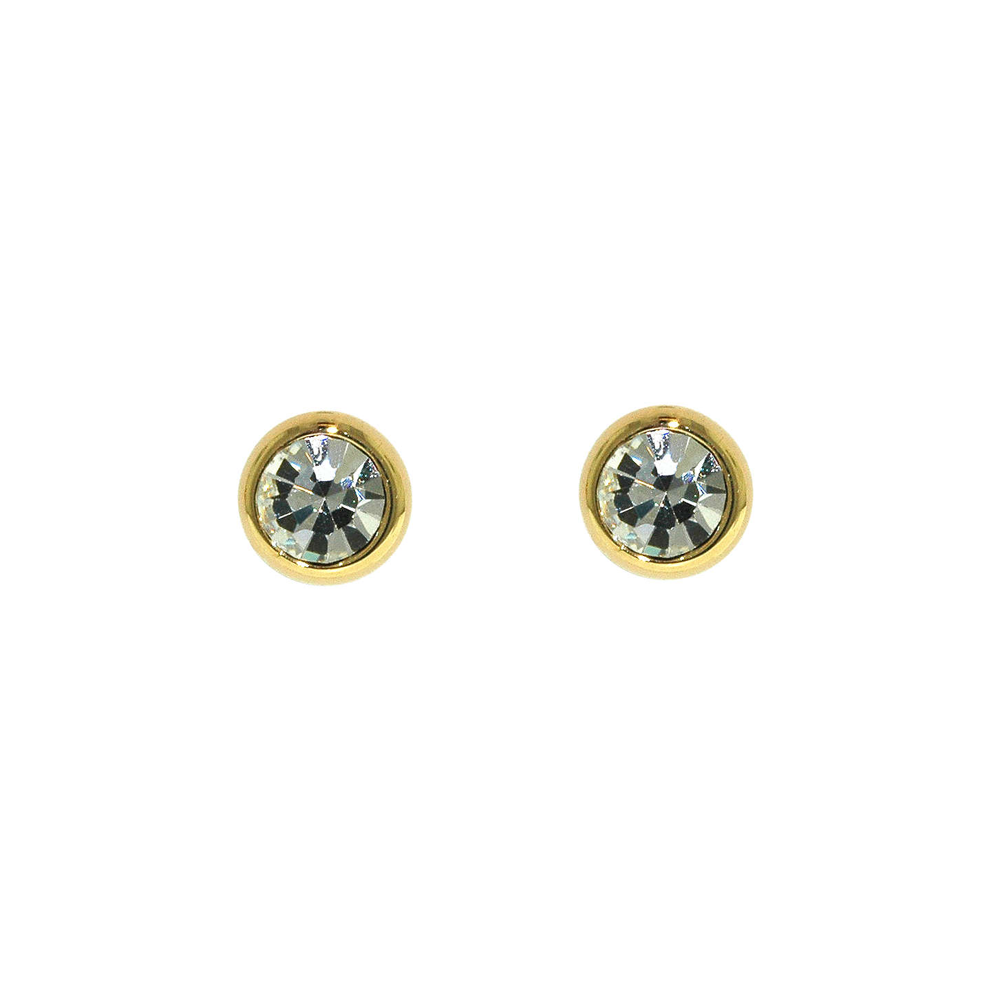 sparkly studs silver vintage stone stud jewellery pin sterling clear earrings