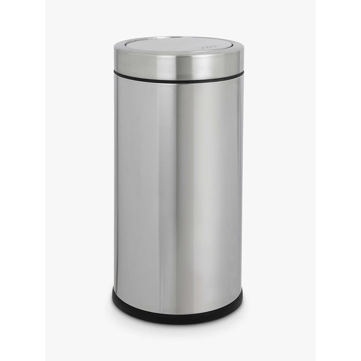 Buysimplehuman Round Swing Bin, Brushed Stainless Steel, 55L Online at johnlewis.com