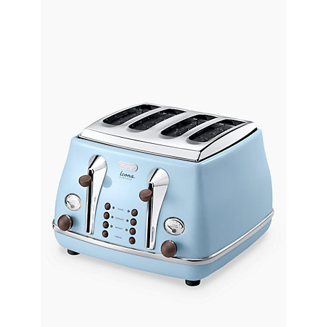 buy de 39 longhi vintage icona 4 slice toaster john lewis. Black Bedroom Furniture Sets. Home Design Ideas
