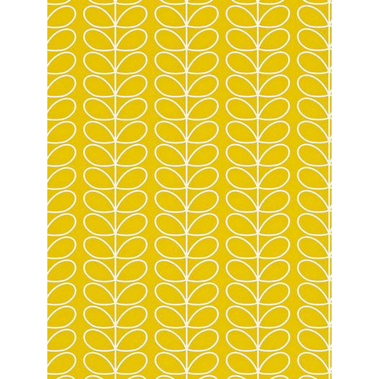 BuyOrla Kiely House For Harlequin Linear Stem Wallpaper Yellow 110400 Online At Johnlewis