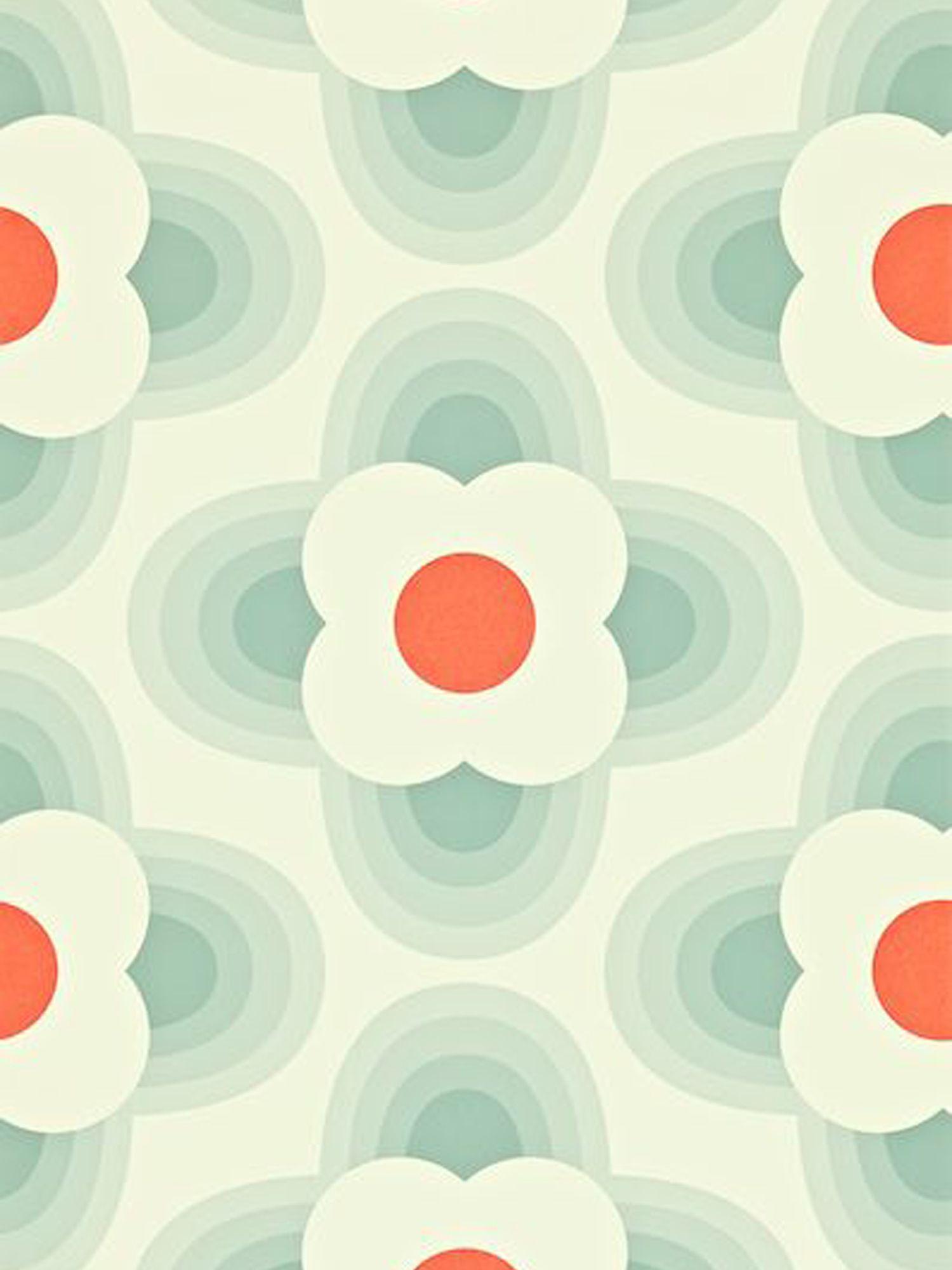 Orla Kiely House for Harlequin Orla Kiely House for Harlequin Striped Petal Wallpaper