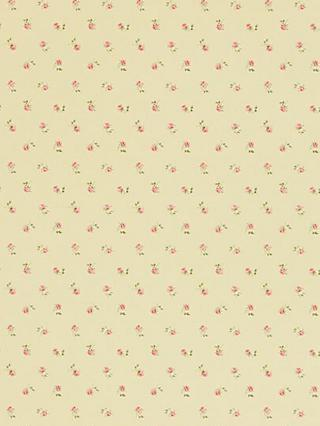 Sanderson Libby Rose Wallpaper, Rose/Buttermilk, WR8518/1
