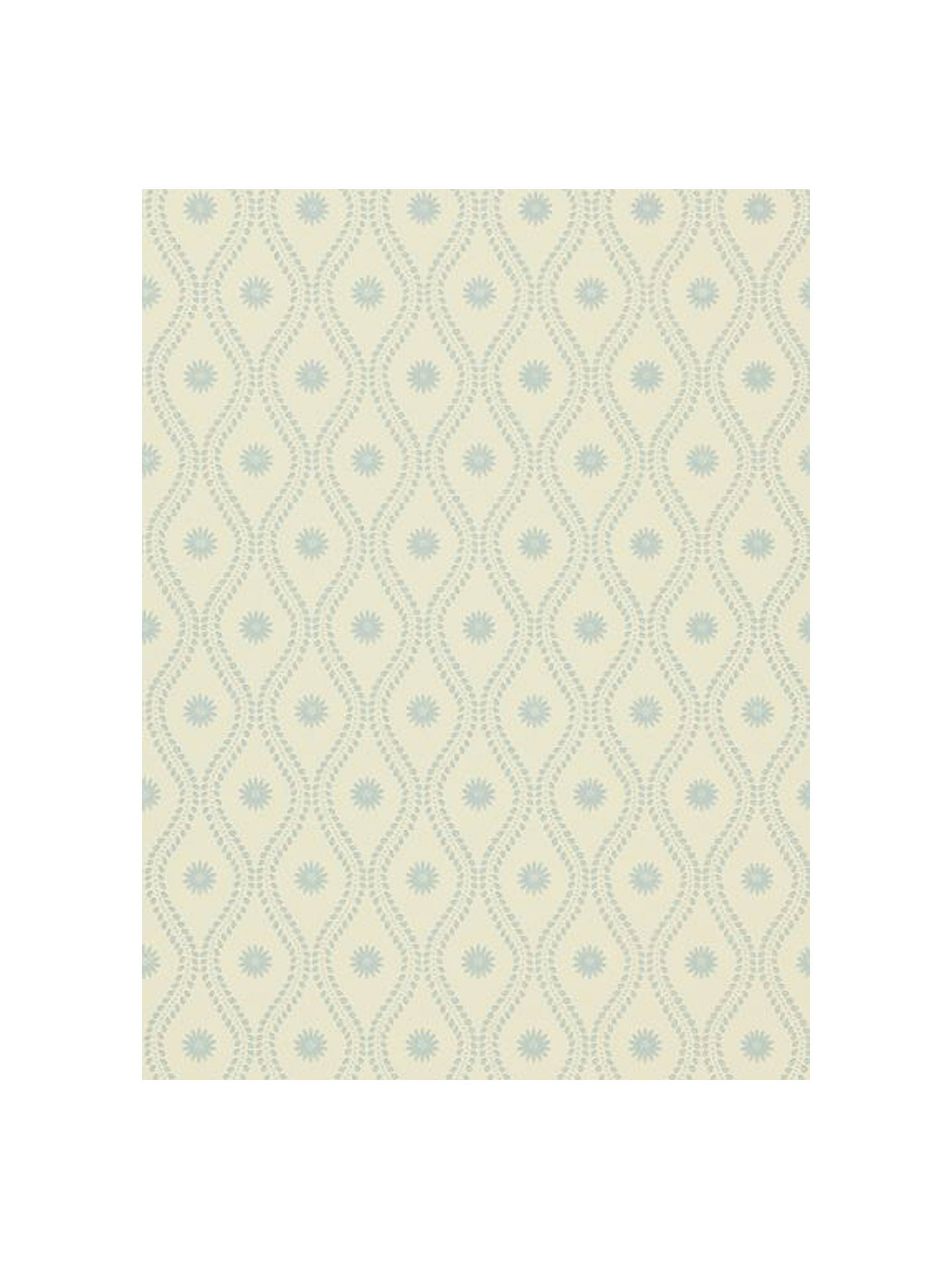 Buy Sanderson Marney Wallpaper, Cream/Blue, DMAWMA101 Online at johnlewis.com