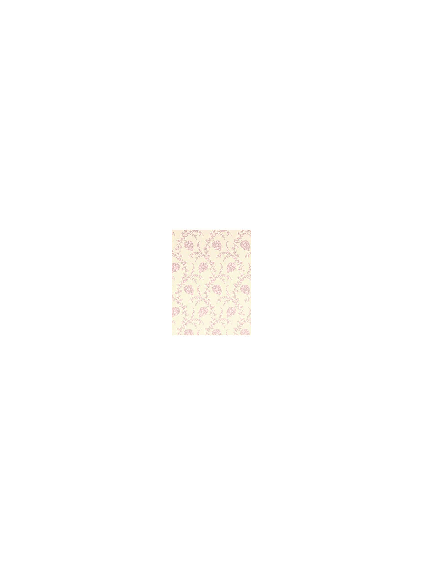 Buy Sanderson Pelham Wallpaper, Cream/Lilac, DPEMPH102 Online at johnlewis.com