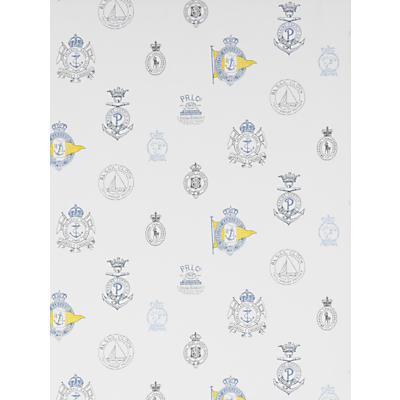 Image of Ralph Lauren Rowthorne Crest Wallpaper