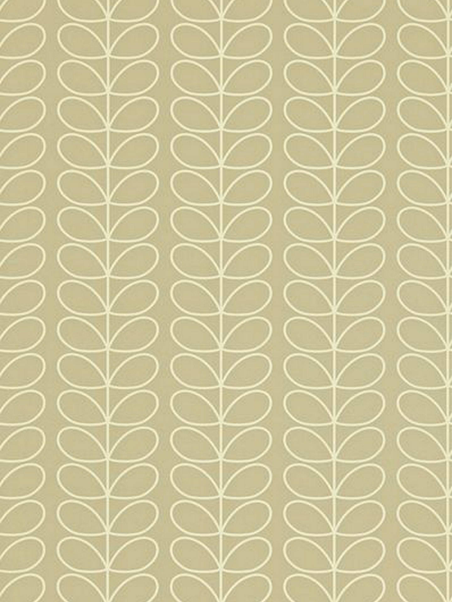 Buy Orla Kiely House for Harlequin Linear Stem Wallpaper, Natural, 110397 Online at johnlewis.com