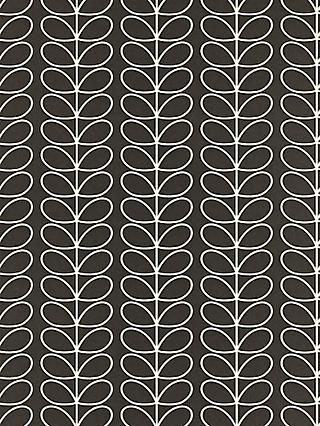 Grey Orla Kiely Wallpaper   John Lewis
