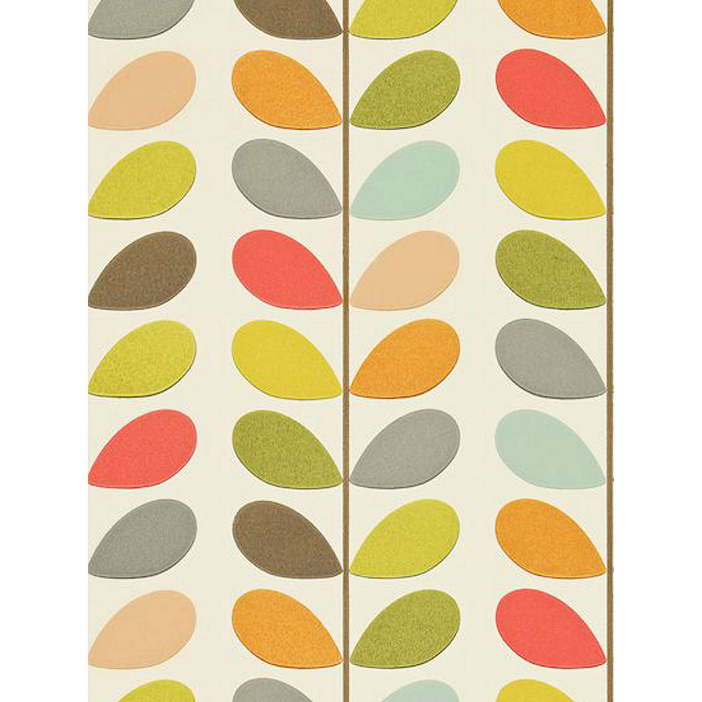 BuyOrla Kiely House For Harlequin Multi Stem Wallpaper, Multicoloured,  110384 Online At Johnlewis.