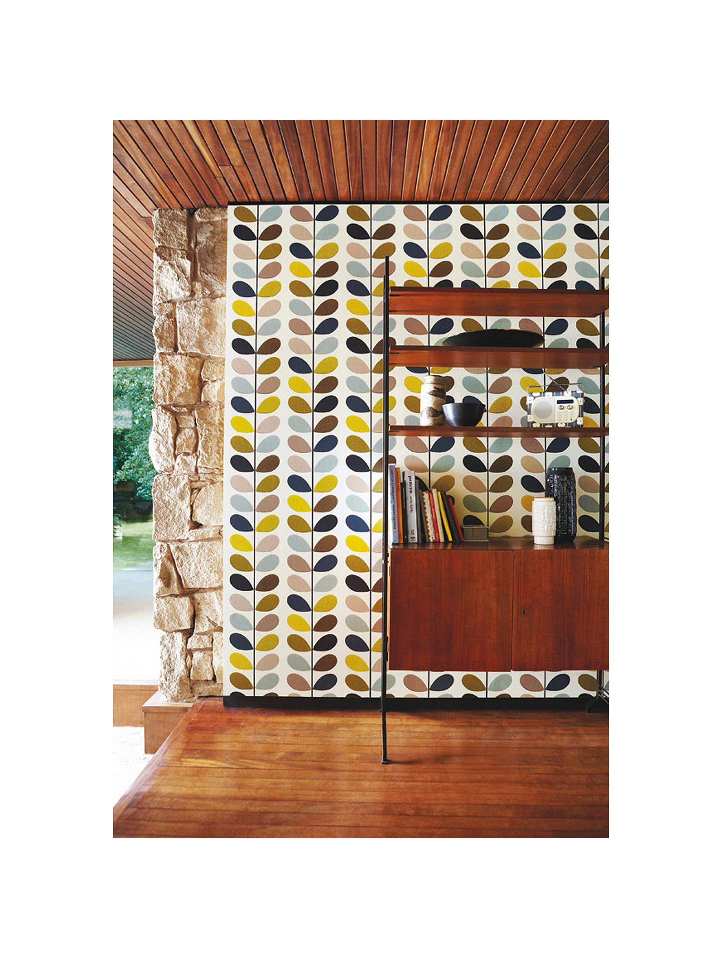 orla kiely house for harlequin multi stem wallpaper at
