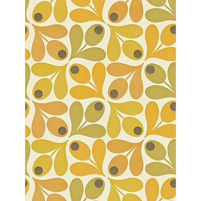 Image of Orla Kiely House for Harlequin Acorn Spot Wallpaper