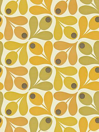 Orla Kiely House for Harlequin Acorn Spot Wallpaper