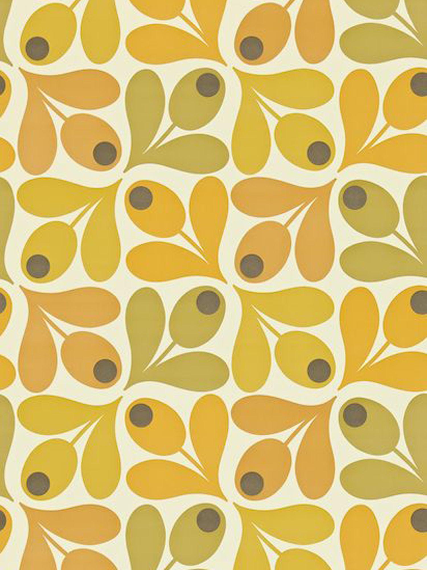 Orla Kiely House for Harlequin Orla Kiely House for Harlequin Acorn Spot Wallpaper