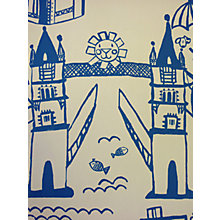 Buy Prestigious Textiles Panorama Cobalt Wallpaper Online at johnlewis.com