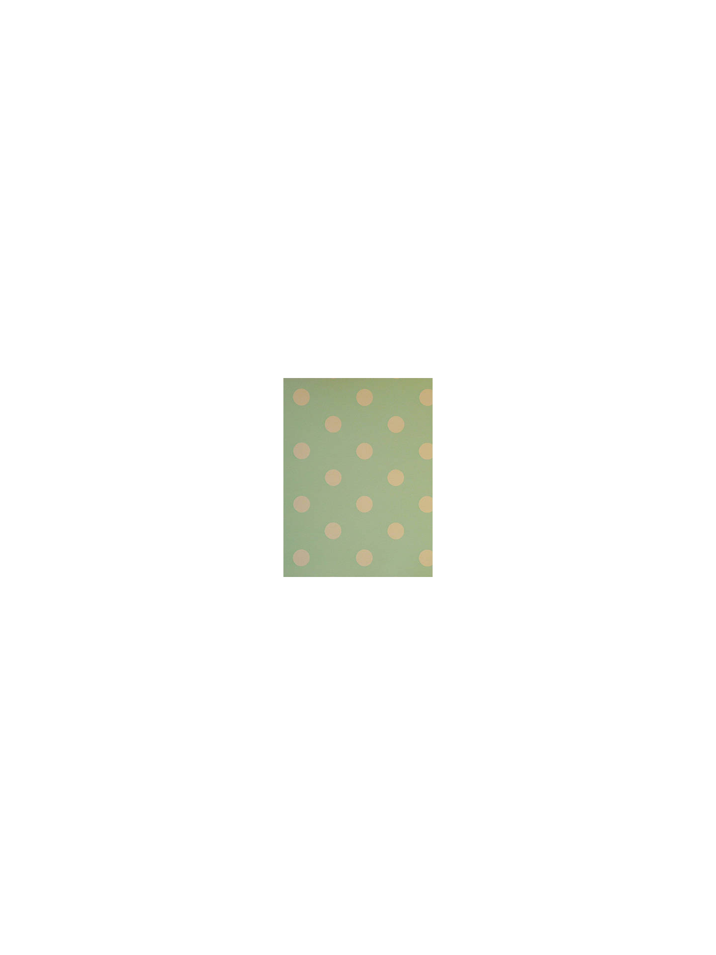 Buy Prestigious Textiles Polka Dot Wallpaper, Turquoise, 1940/617 Online at johnlewis.com