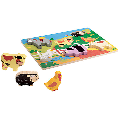 Buy John Lewis Chunky Farm Puzzle Online at johnlewis.com