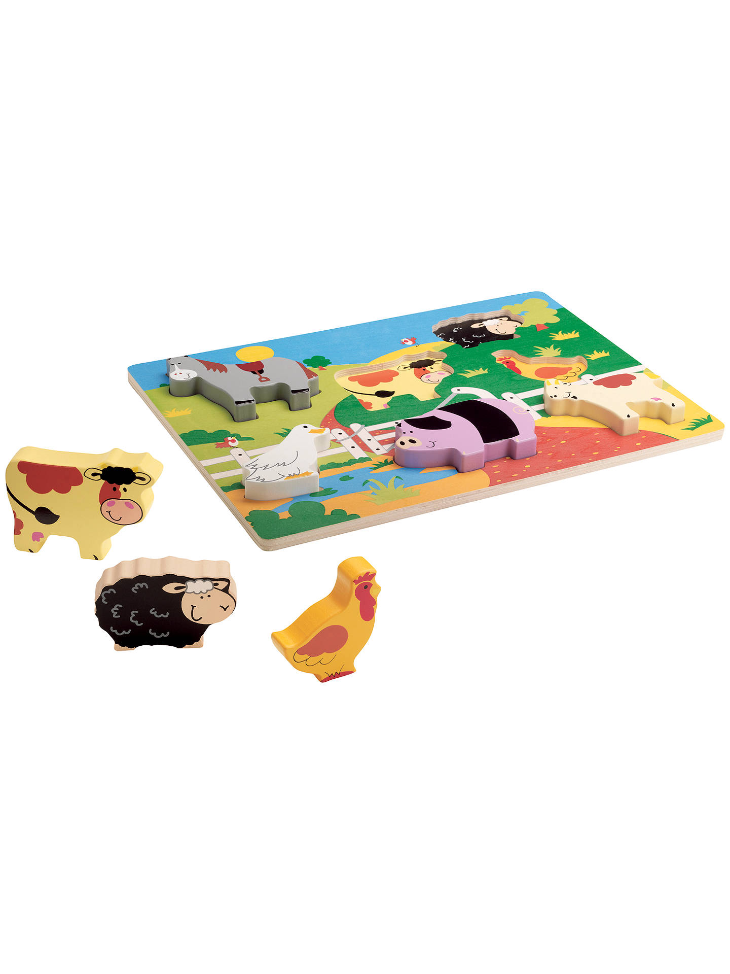 Buy John Lewis & Partners Chunky Farm Puzzle Online at johnlewis.com