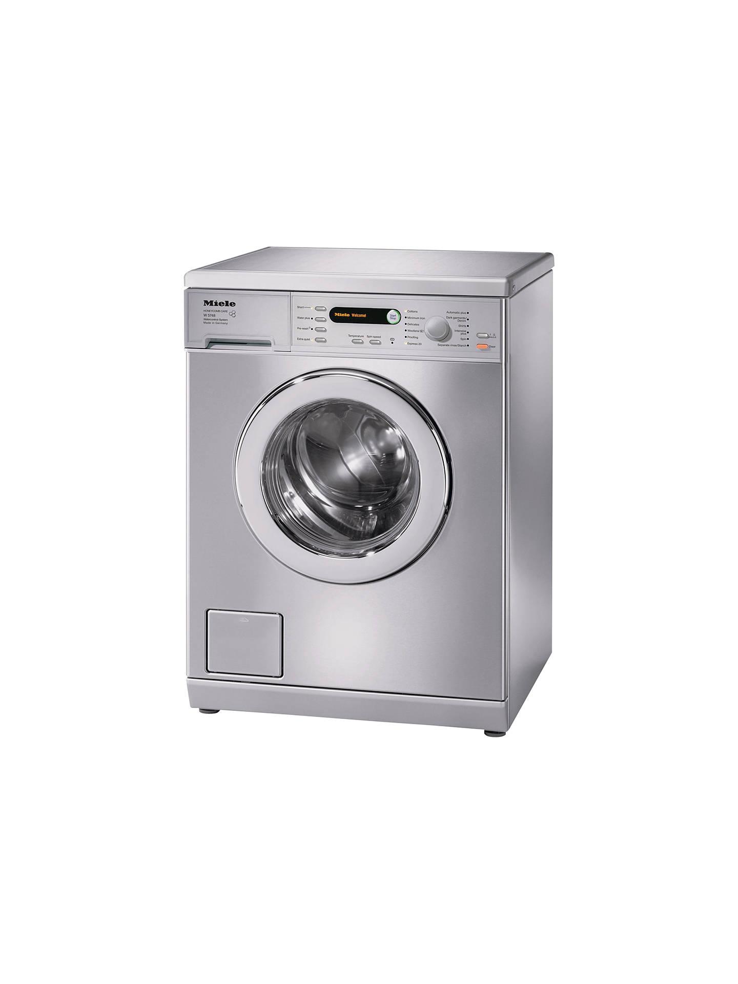 Miele W5748 Freestanding Washing Machine, 7kg Load, A ...