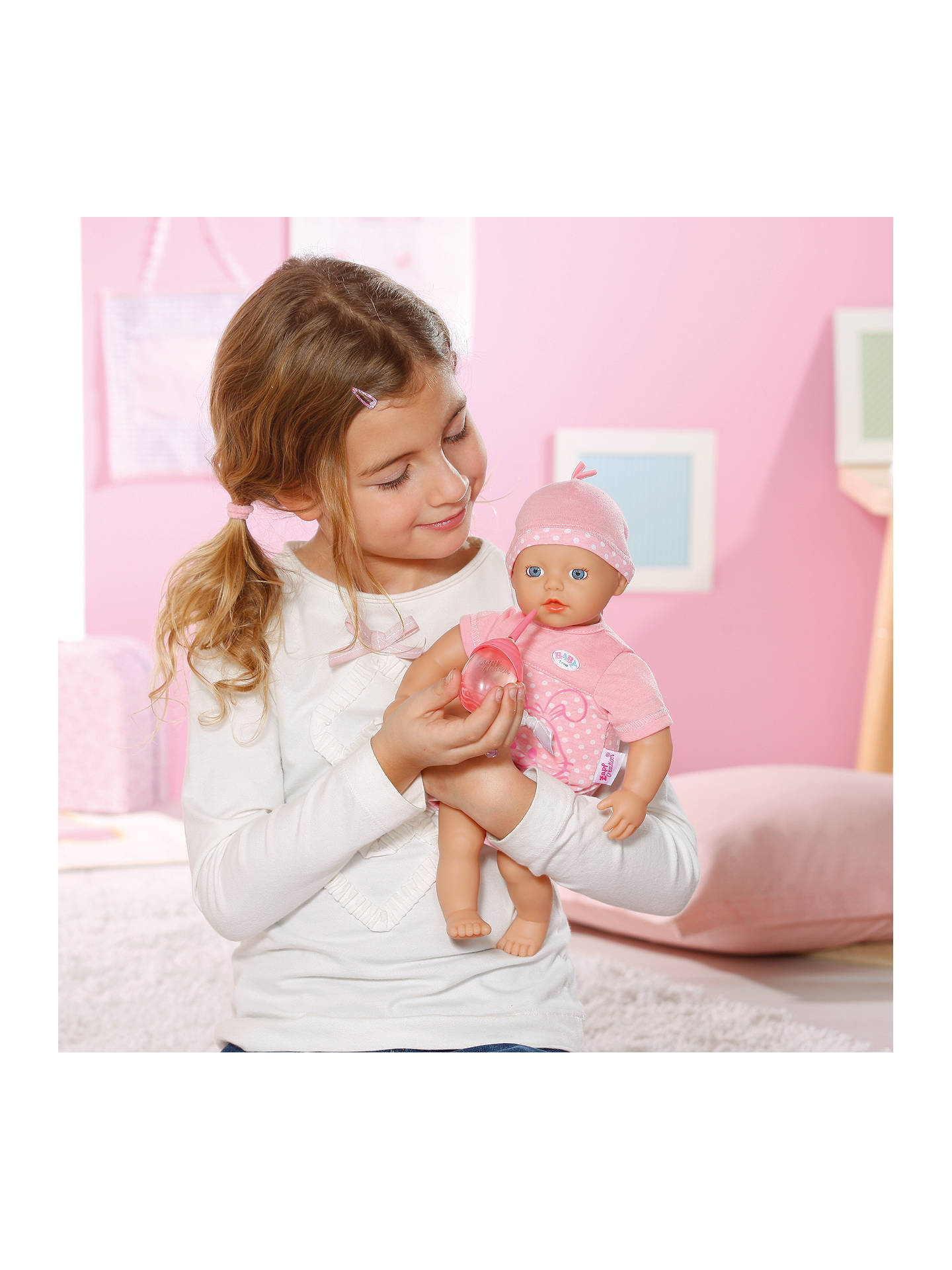 Baby Born My Little Girl Beginners Doll At John Lewis