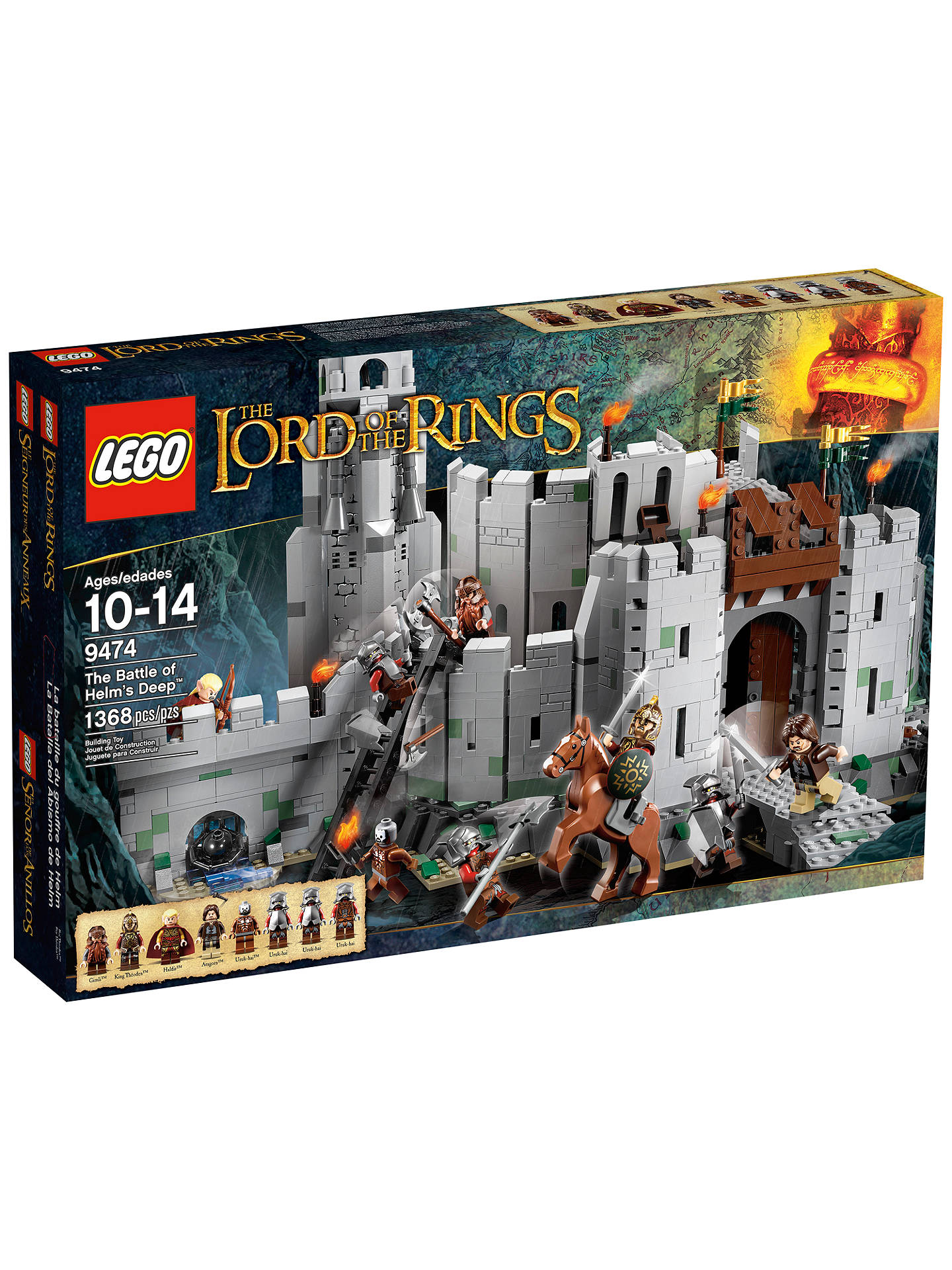 27d2273f Buy LEGO Lord of the Rings The Battle of Helm's Deep Set Online at  johnlewis.