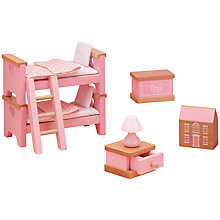 Buy John Lewis Doll's House Accessories, Children's Bedroom Furniture Online at johnlewis.com