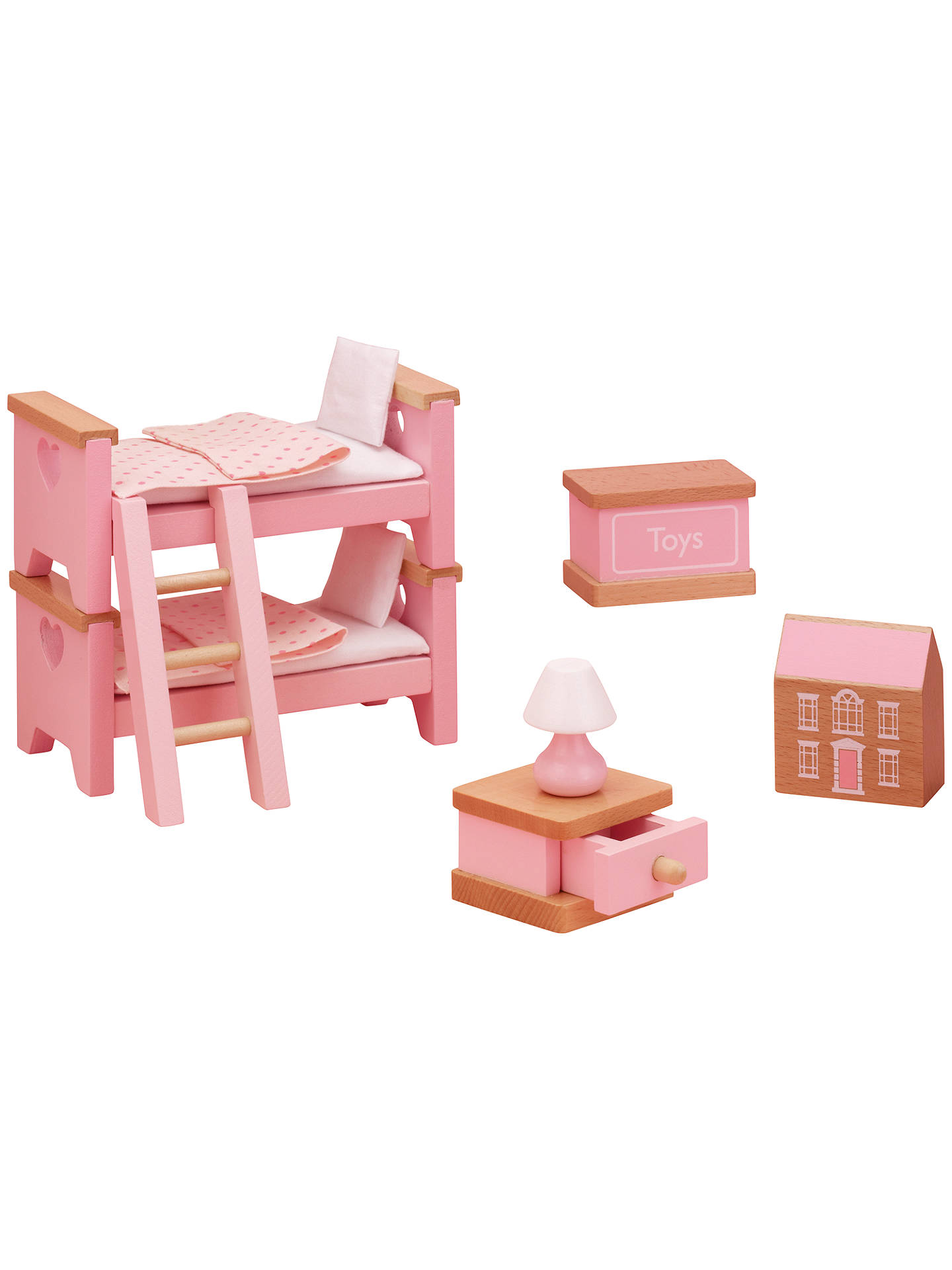 John Lewis Partners Doll S House Accessories Children Bedroom Furniture At Johnlewis Com