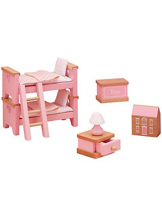 John Lewis & Partners Doll's House Accessories, Children's Bedroom Furniture
