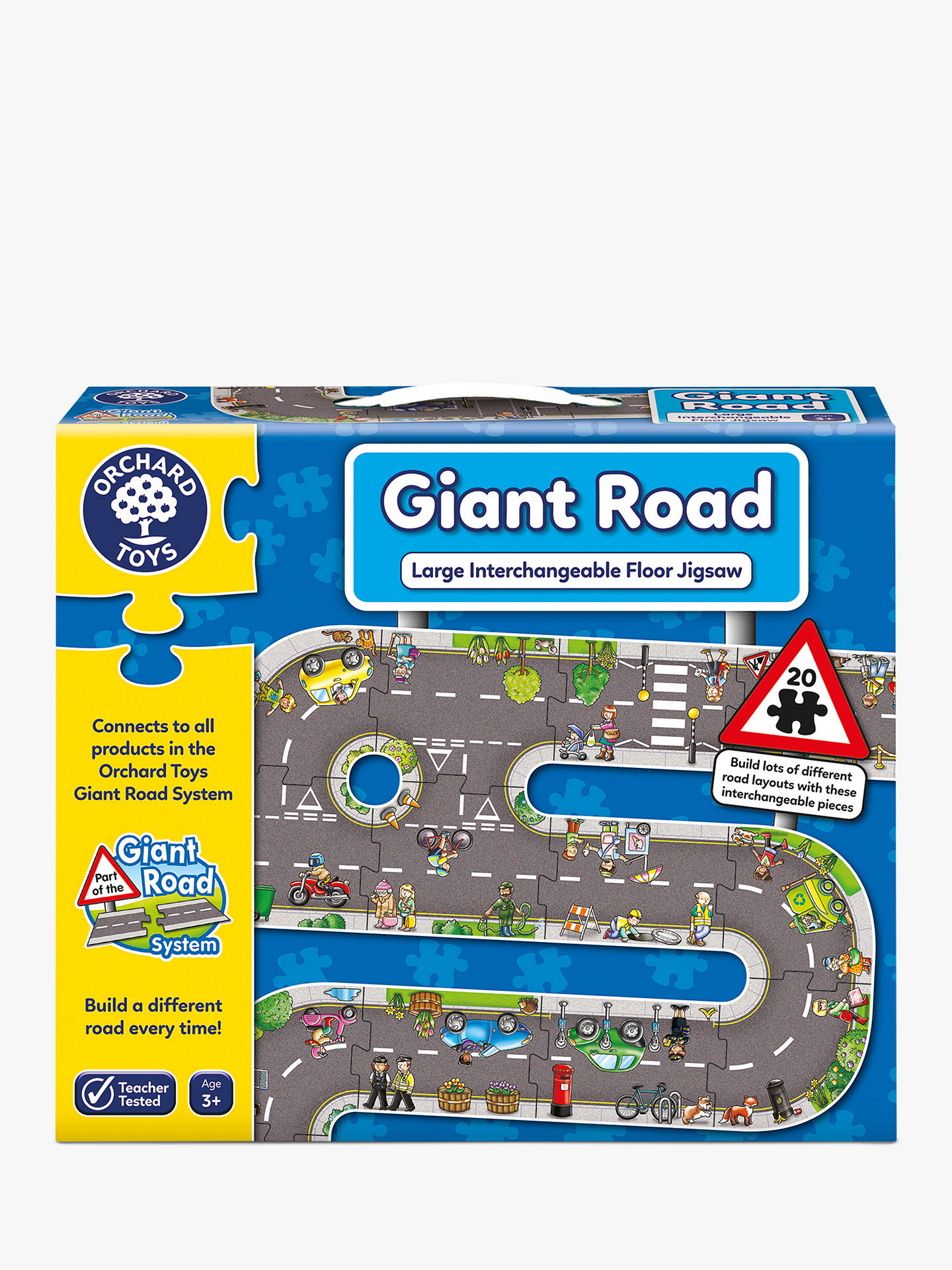 Buy Orchard Toys Giant Road Jigsaw Puzzle, 20 Pieces Online at johnlewis.com