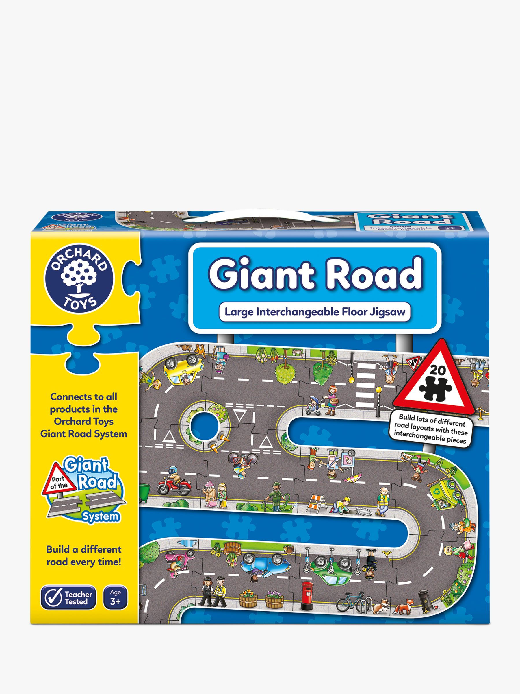 Orchard Toys Orchard Toys Giant Road Jigsaw Puzzle, 20 Pieces
