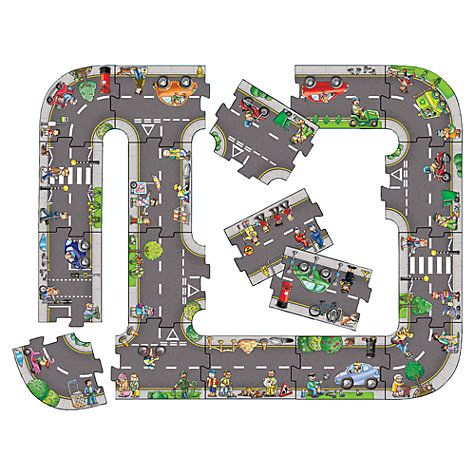 Buy Orchard Toys Giant Road Puzzle, 20 Pieces Online at johnlewis.com