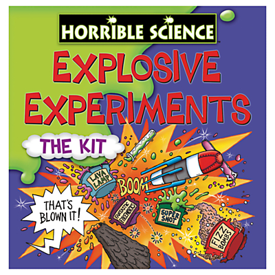 Image of Galt Toys - Horrible Science Really Rotten Experiments