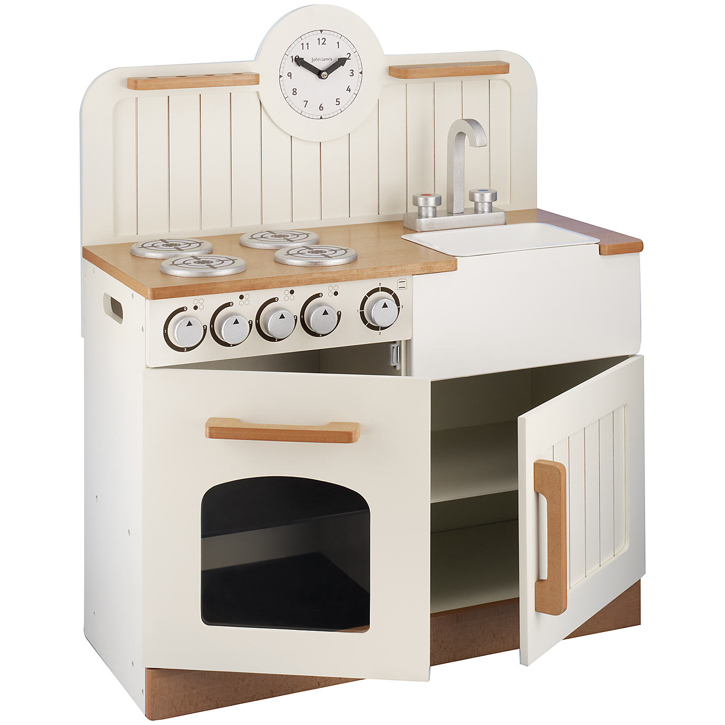 John Lewis Country Play Wooden Kitchen Online At Johnlewis