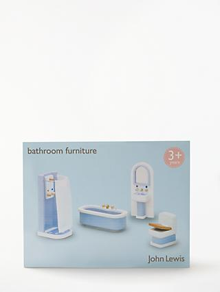 John Lewis & Partners Doll's House Accessories, Bathroom