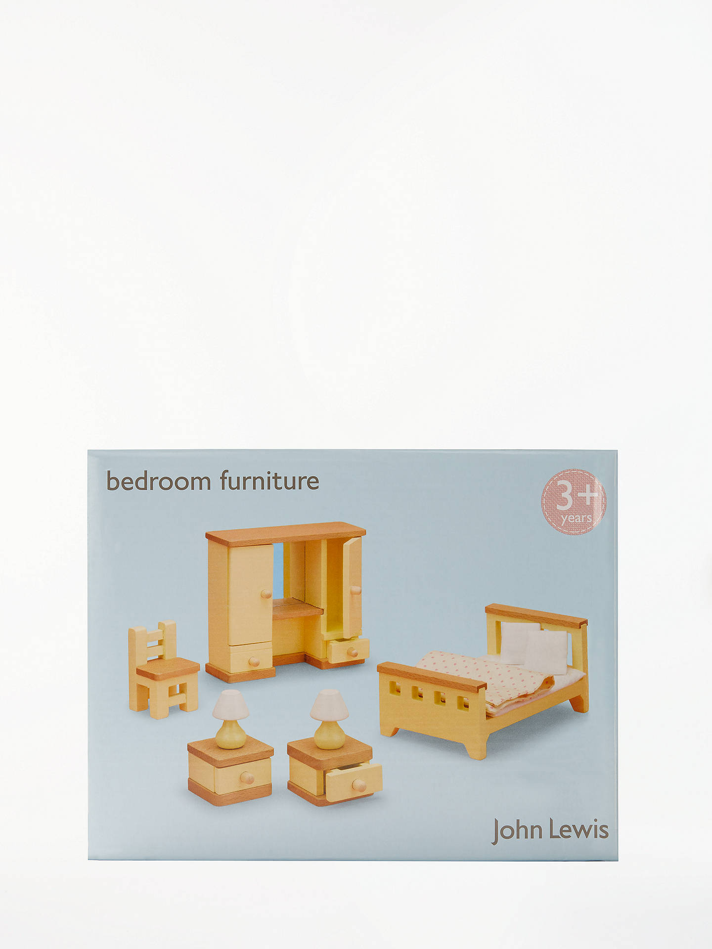 Buy John Lewis & Partners Doll's House Accessories, Master Bedroom Furniture Online at johnlewis.com