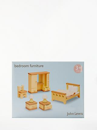 John Lewis & Partners Doll's House Accessories, Master Bedroom Furniture