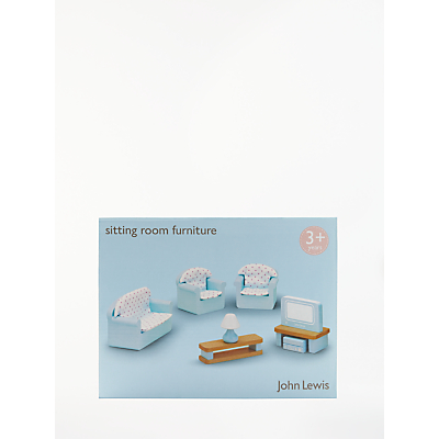 John Lewis Doll's House Accessories, Living Room Furniture