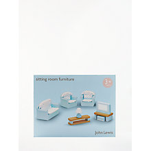 Buy John Lewis Doll's House Accessories, Living Room Furniture Online at johnlewis.com