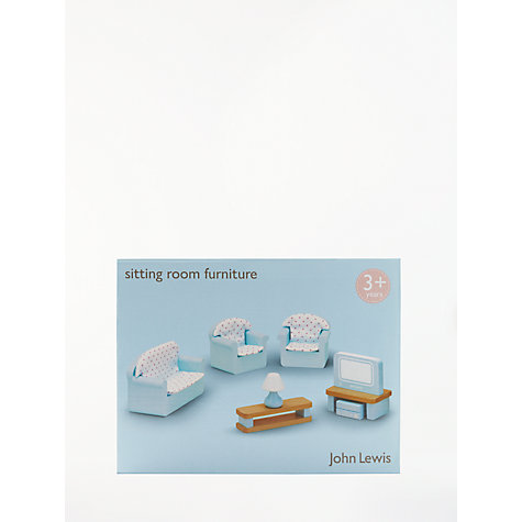 Buy John Lewis Dolls House Accessories Living Room Furniture Online At Johnlewis