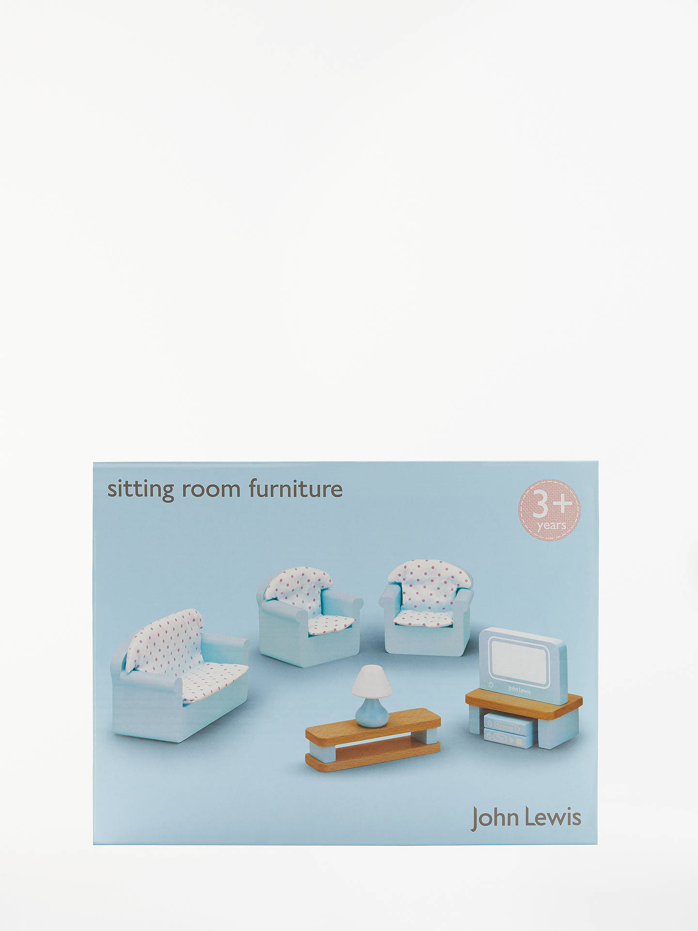 John Lewis Baby Boy Bedroom: John Lewis & Partners Doll's House Accessories, Living