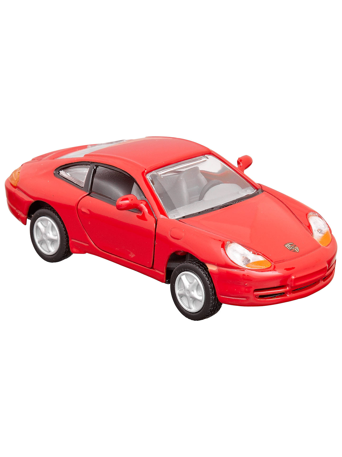 BuyJohn Lewis & Partners Pull Back Friction Cars, Pack of 4 Online at johnlewis.com