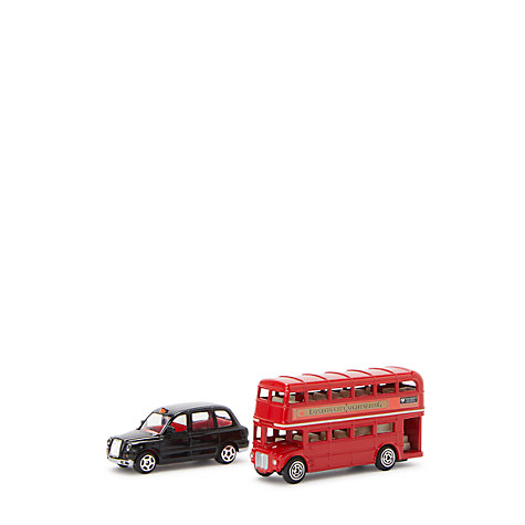 Buy John Lewis Small London Bus and Taxi Pack Online at johnlewis.com