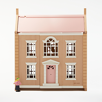 John Lewis Wooden Dolls House Leckford House