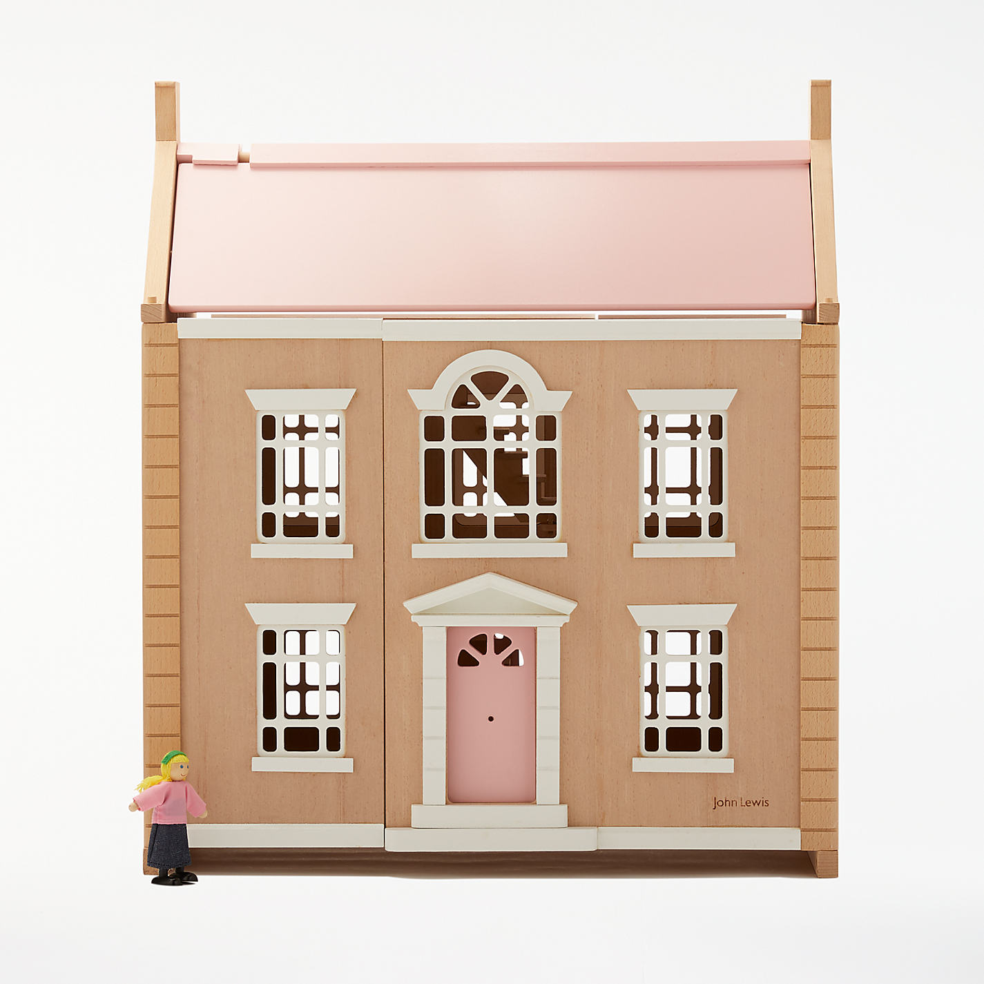 Images of doll houses - Buy John Lewis Leckford House Wooden Doll S House Online At Johnlewis Com