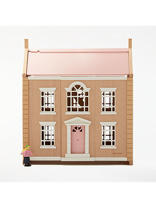 Buy John Lewis & Partners Leckford House Wooden Doll's House Online at johnlewis.com