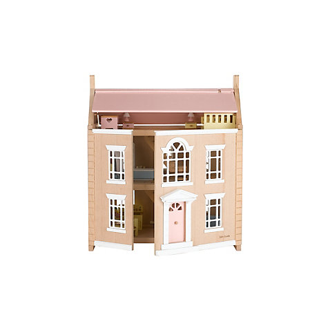 Buy John Lewis Leckford House Wooden Doll's House Online at johnlewis.com