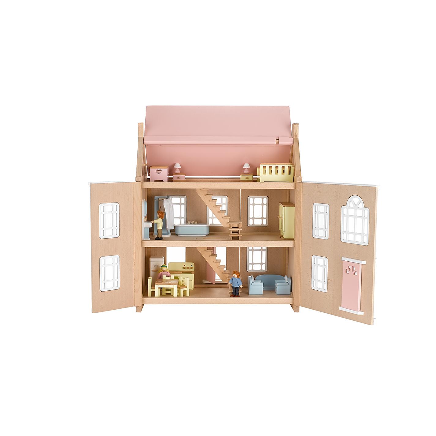 John lewis childrens bedroom furniture -  Buy John Lewis Leckford House Wooden Doll S House Online At Johnlewis Com