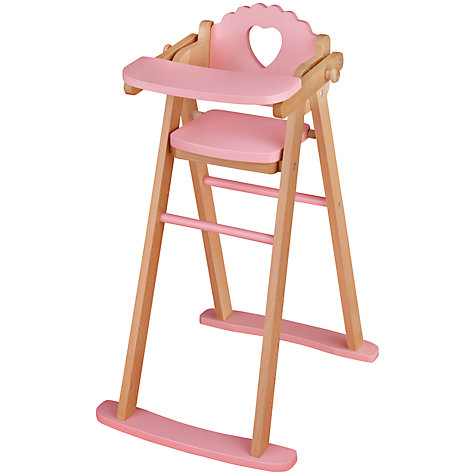 Buy John Lewis Doll's Highchair Online at johnlewis.com