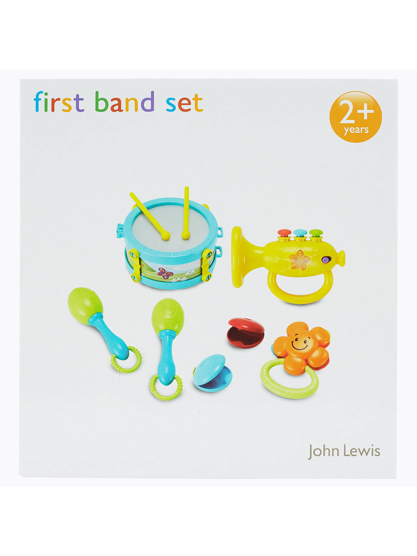 BuyJohn Lewis & Partners My First Band Baby Toy Set Online at johnlewis.com