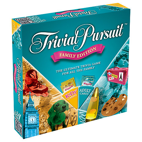 Buy MB Games Trivial Pursuit, Family Edition Online at johnlewis.com